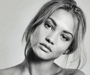 beautiful, girl, and model image