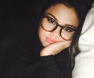 selena gomez, selena, and glasses image