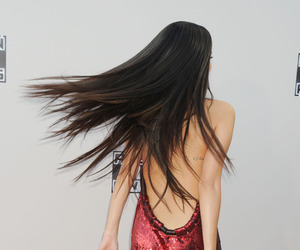 hair and selena gomez image
