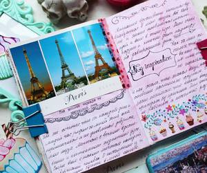 diary, journal, and smashbook image