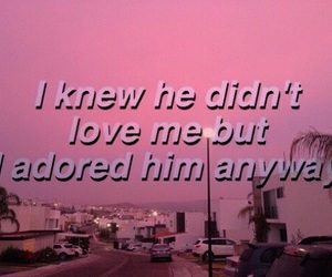 pink, tumblr, and love image
