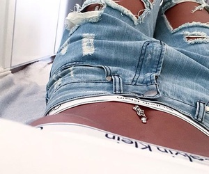 girl, goals, and jeans image