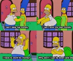 funny and homer image