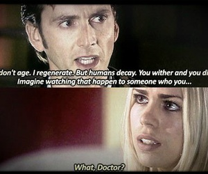 doctor who, quotes, and rose image