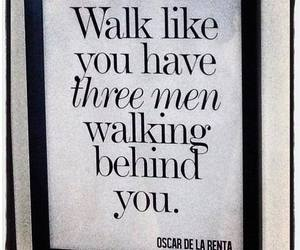 quote, walk, and men image