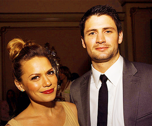 one tree hill, james lafferty, and bethany joy lenz image