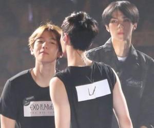 boy, sehun, and baekhyun image