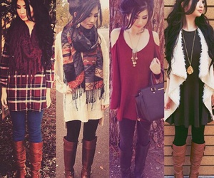 invierno, oufits, and oufits de invierno image