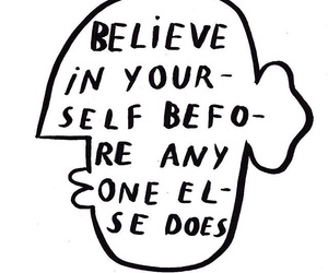 art, believe, and quote image