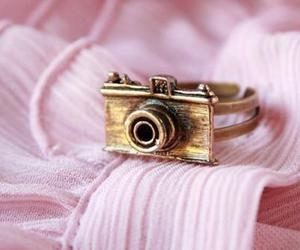 camera, ring, and pink image