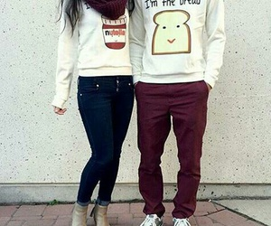 couple, outfit, and goals image