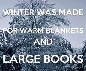 winter, book, and quotes image
