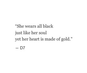 quotes, black, and gold image