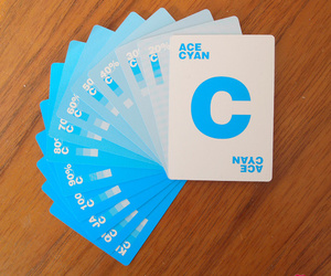 cmyk, deck of cards, and graphic design image