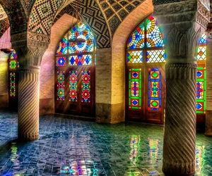 colorful, colors, and architecture image