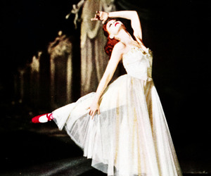 ballet, red shoes, and ballerina image