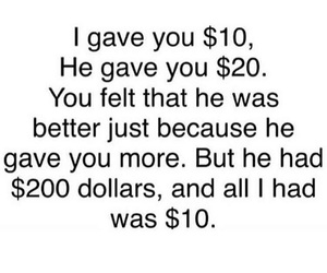 quotes, money, and deep image