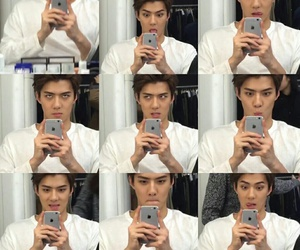 exo, sehun, and hunstagram image