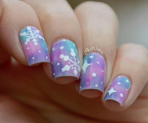 beautiful, galaxy, and nail polish image