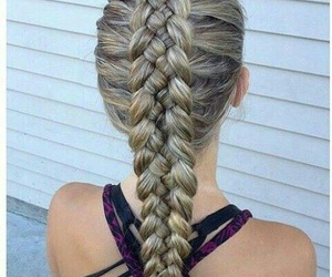 beautiful, blonde, and rubia image