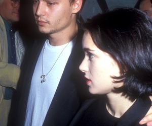 johnny depp, winona ryder, and love image