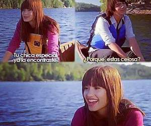 camp rock, Joe Jonas, and demi lovato image