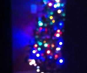 arbol, luces, and luz image