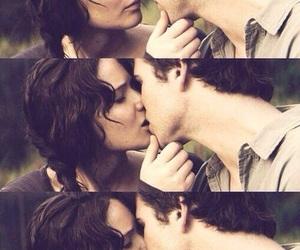 gale, kiss, and katniss image