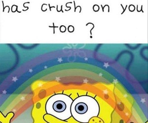 crush, imagination, and funny image