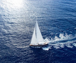 escape, sailing, and photography image