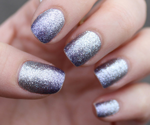 glitter, holidays, and nails image