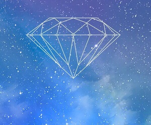 diamond, wallpaper, and blue image