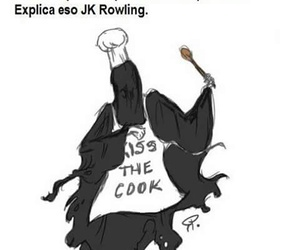 cook, dementor, and hp image