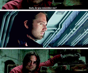 captain america, Marvel, and stucky image