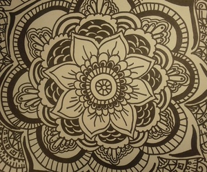 art, zentangle art, and black and white image