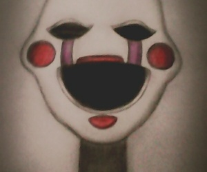 art, puppet, and five nights at freddy's image