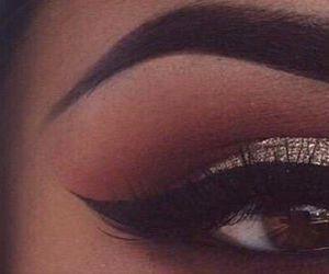 eyeliner, makeup, and fleek image