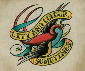 city and colour, sometimes, and music image