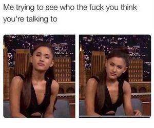attitude, fuck off, and haha image