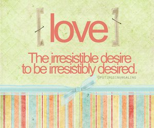 quote, love, and desire image