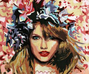 Taylor Swift and art image