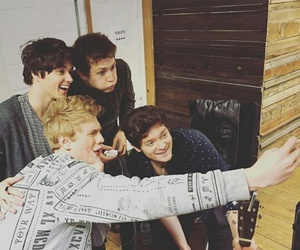 the vamps, selfie, and connor ball image
