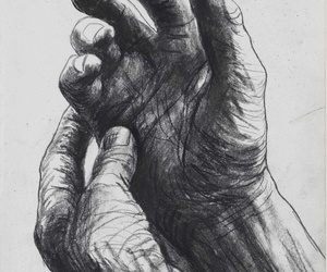 hands and drawing image