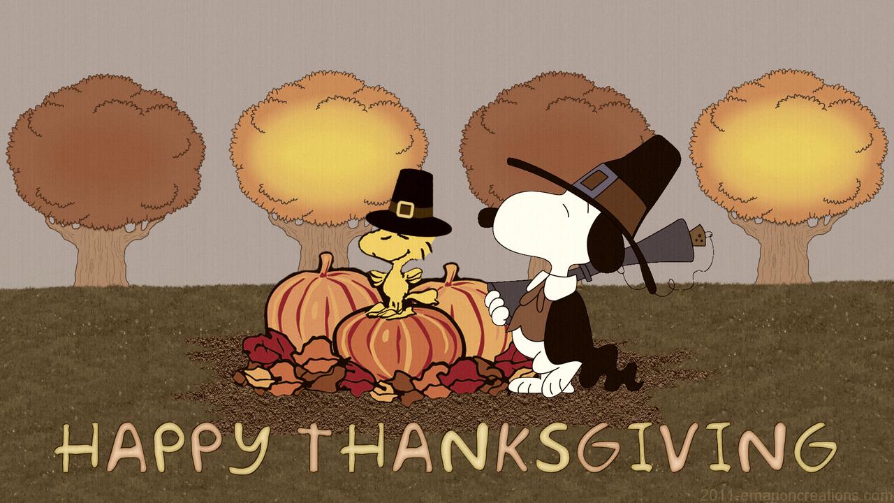 Happy Thanksgiving Snoopy Uploaded By Kseniya Asd