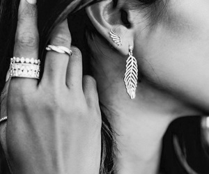 beautiful, details, and earring image