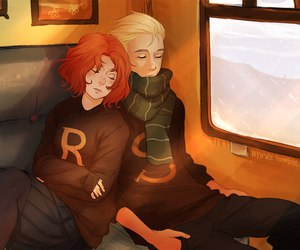 harry potter, hp, and scorpius malfoy image