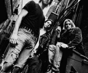 music, nirvana, and band image