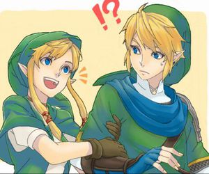 anime, the legend of zelda, and boy image