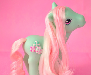 pony and pink image