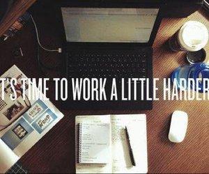 work, study, and hard image
